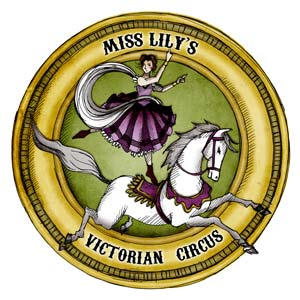 Miss Lily's Victorian Circus logo